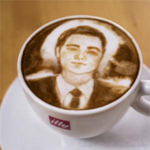 Leonardo DiCapruccino | Coffee Art by Michael Breach