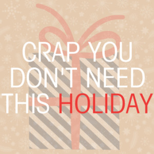 CRAPPING ON YOUR HOLIDAYS | #CYDNTW