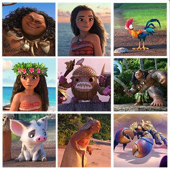 5 Fun Facts from the Cast of Moana via SHUGGILIPPO.com