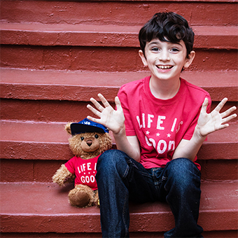 Gift Giving Goals with Life is Good + Build-A-Bear Workshop via shuggilippo.com