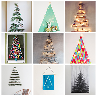 The Perfect Small Space Christmas Tree Ideas via shuggilippo.com