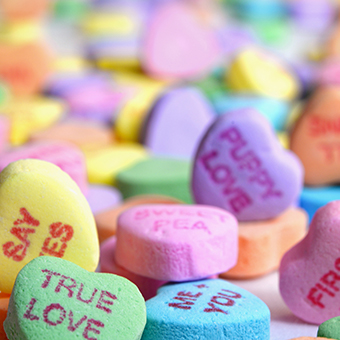 9 Ways to Ruin Sweets + Treats with Candy Hearts