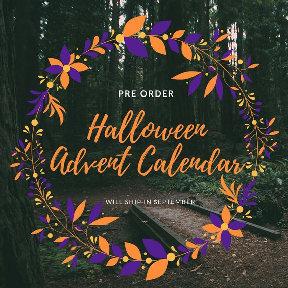 The 2018 Halloween Advent Calendar by Whipped Up Wonderful