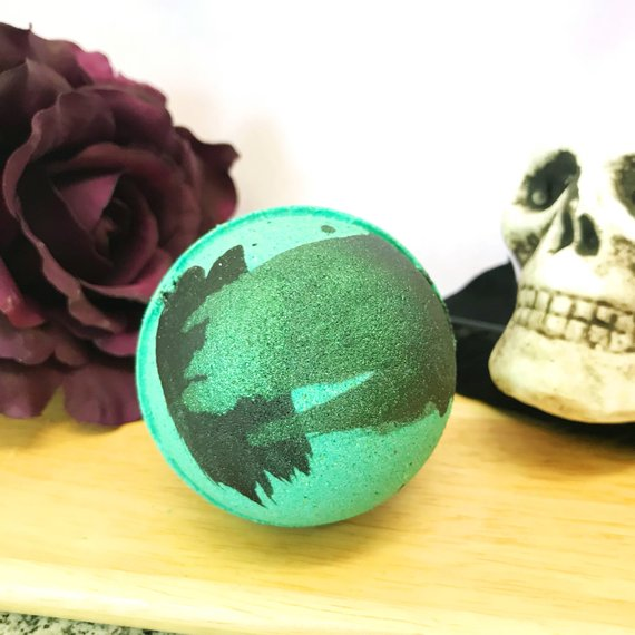 The Creature Bath Bomb by Whipped Up Wonderful