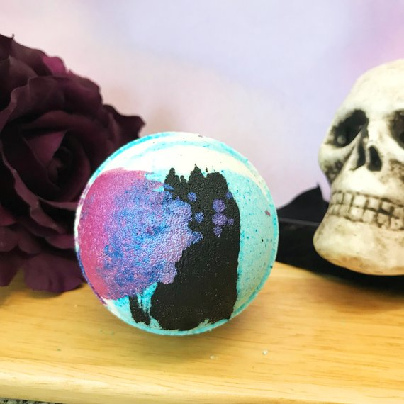 The Monster's Bride Bath Bomb by Whipped Up Wonderful