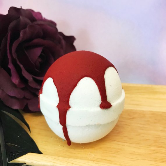 The Vampire Bath Bomb by Whipped Up Wonderful