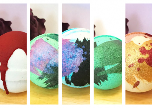 6 Must-Have Spooky Halloween Bath Bombs by Whipped Up Wonderful via SHUGGILIPPO
