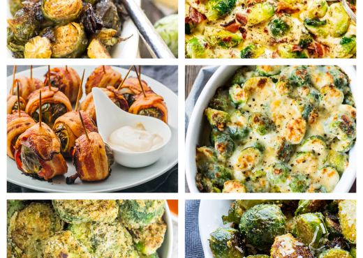20 Easy Brussels Sprouts Recipes via shuggilippo.com